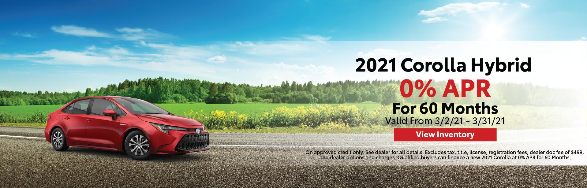Mar. 2021 – Corolla Hybrid – Lynch Homepage