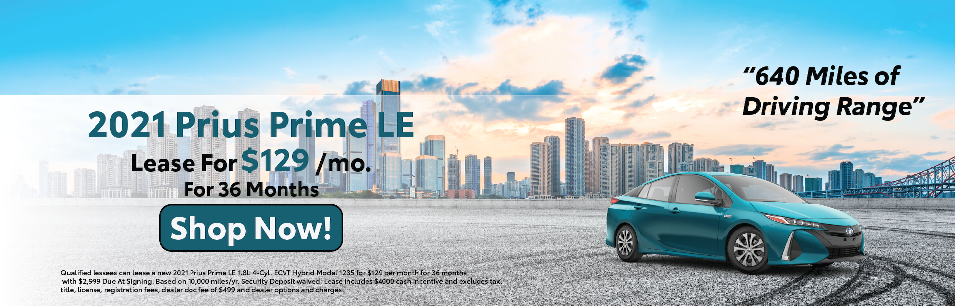 April 2021 – Prius Prime Lease Offers – Lynch Homepage