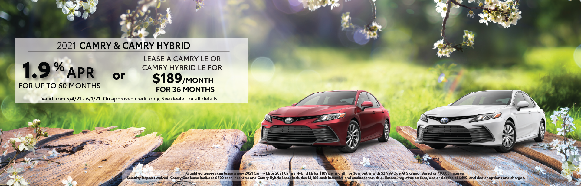 May 2021 – Camry Offers – Lynch Homepage