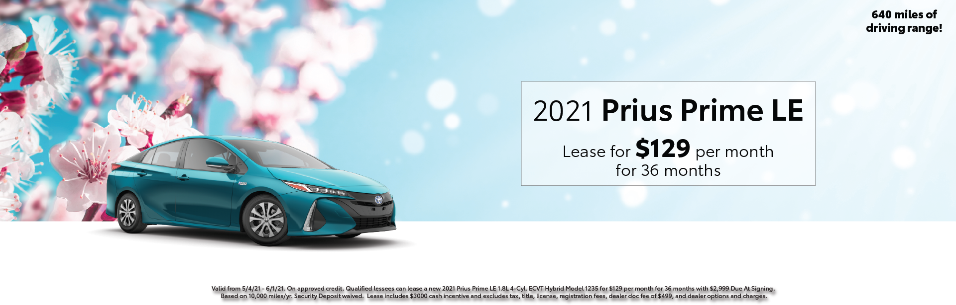 May 2021 – Prius Prime Offers – Lynch Homepage