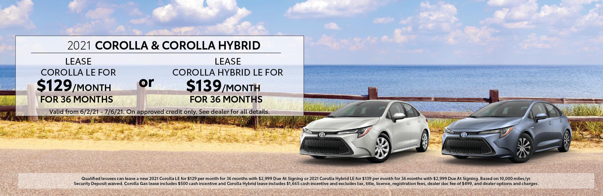 June 2021 – Corolla Offers – Lynch Homepage