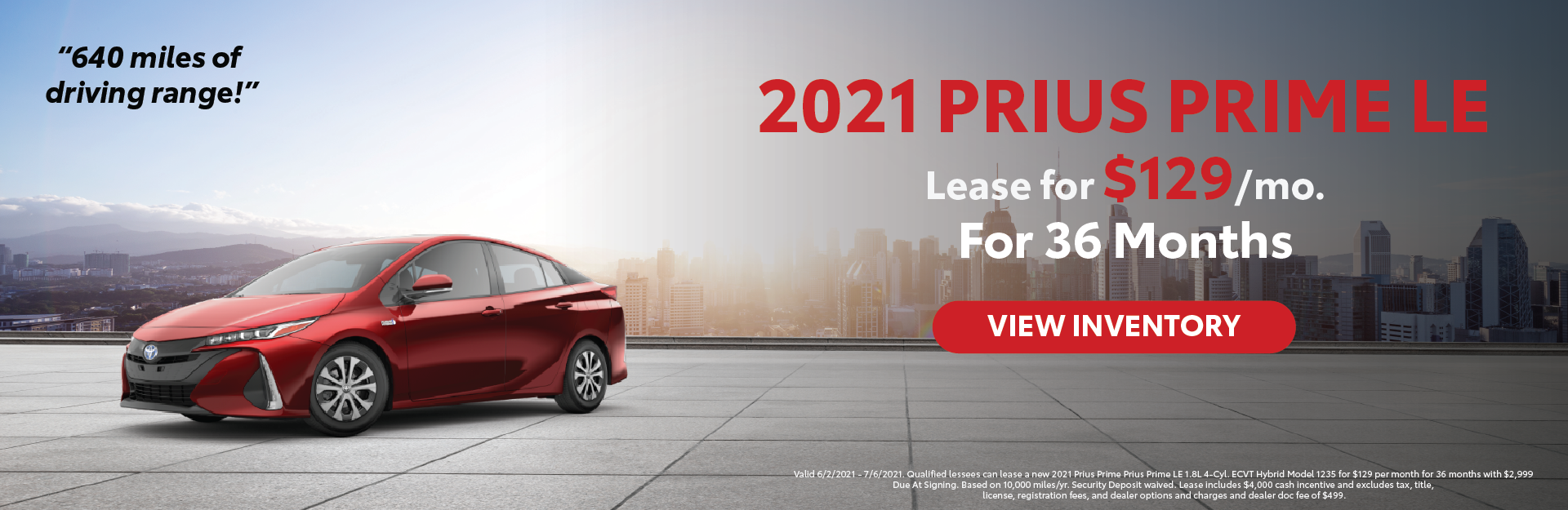 June 2021 – Prius Prime Lease Offers – Lynch Homepage