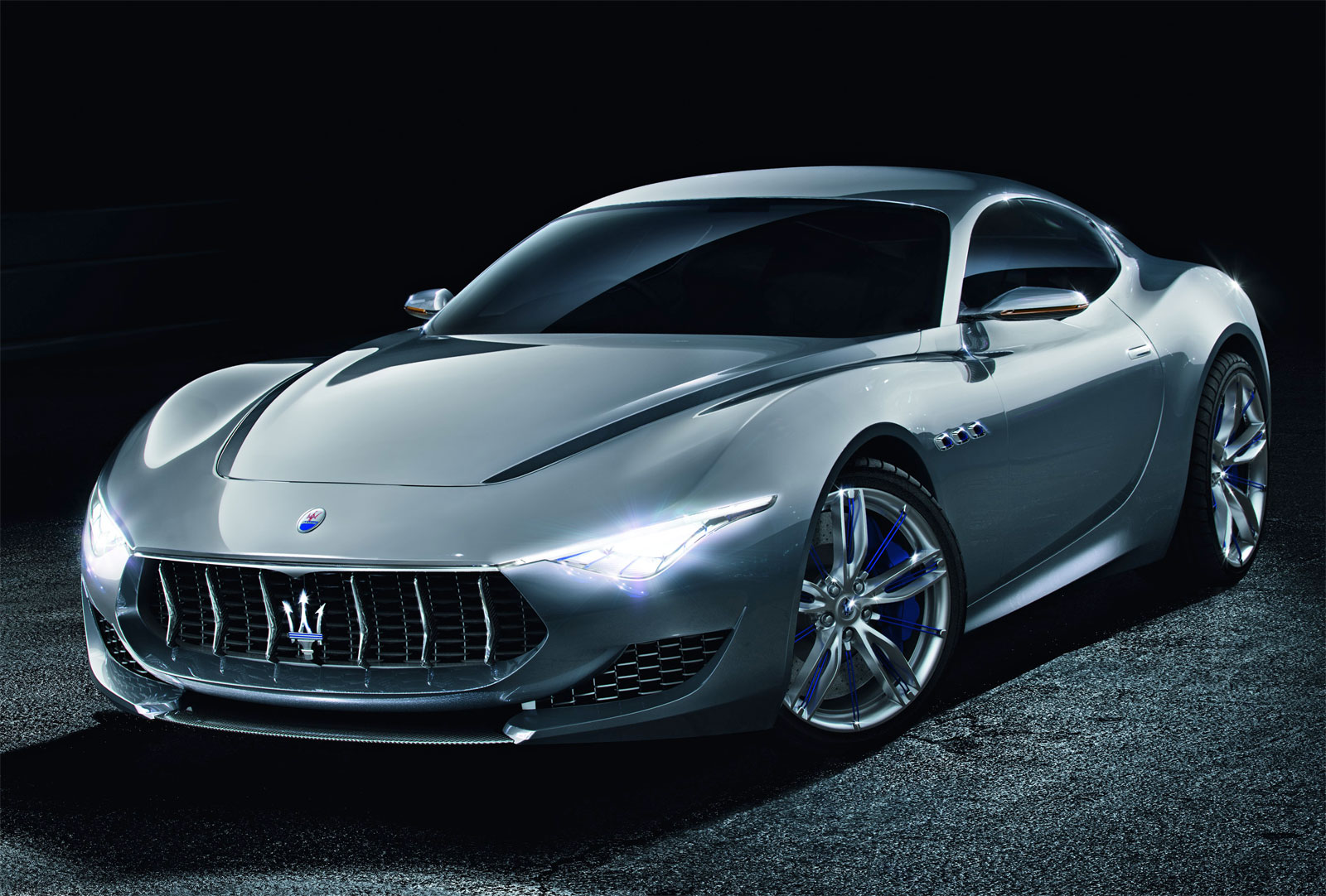 quick look at the maserati alfieri concept. Black Bedroom Furniture Sets. Home Design Ideas