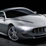 Maserati Alfieri front view