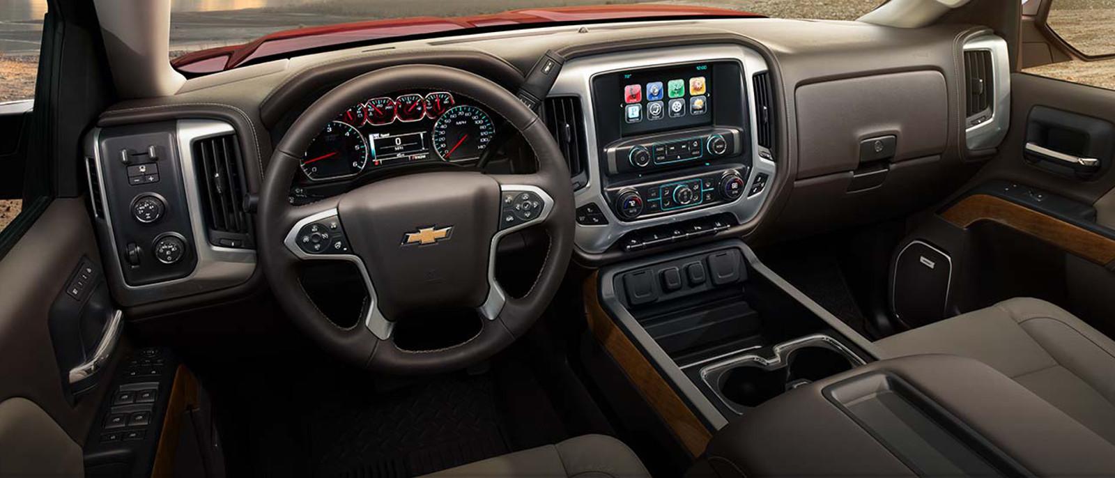 2015 Chevrolet Silverado Interior