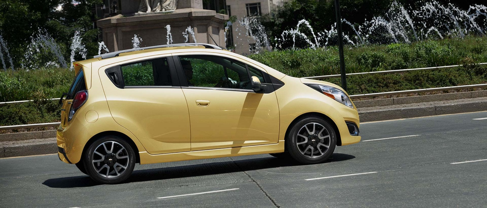 2015 Chevrolet Spark profile