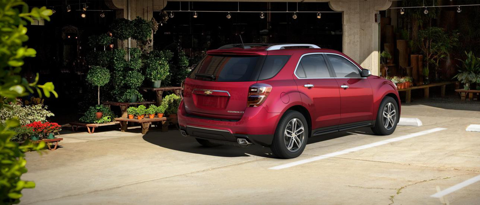 2015 Chevy Equinox Rear Exterior