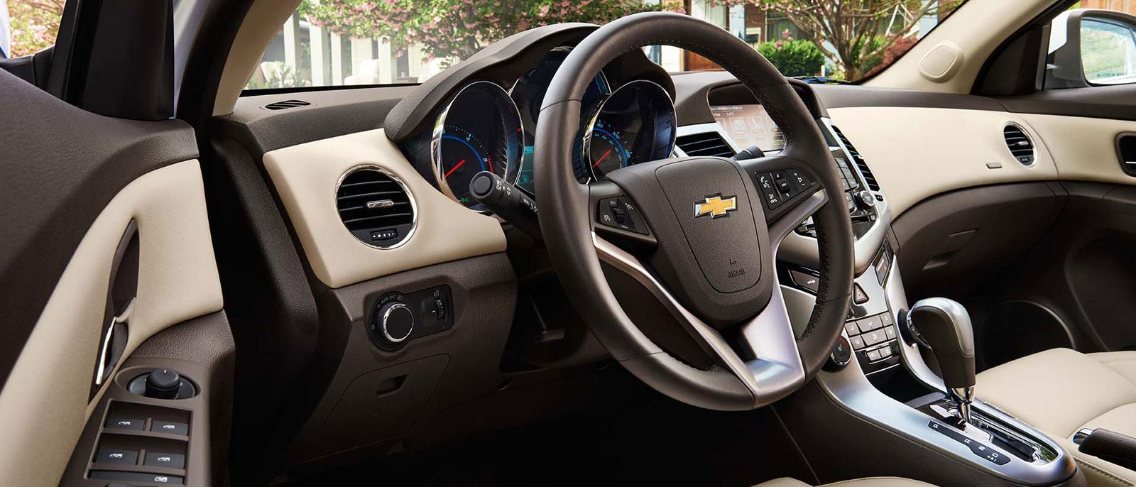 2015 Chevy Cruze interior