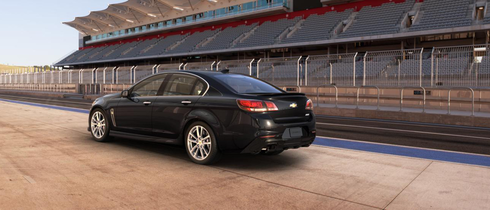 2015 Chevrolet SS profile view