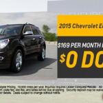 Specials, see dealer for details.