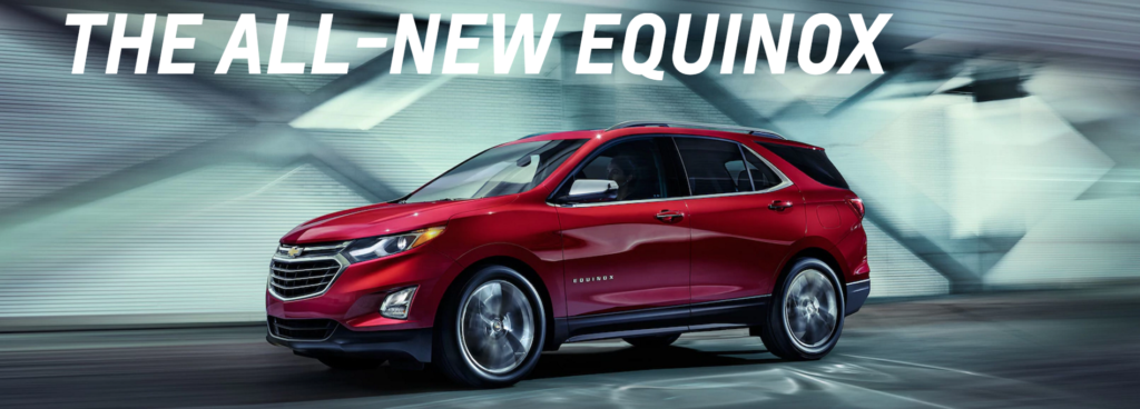 The all new 2018 Chevrolet Equinox
