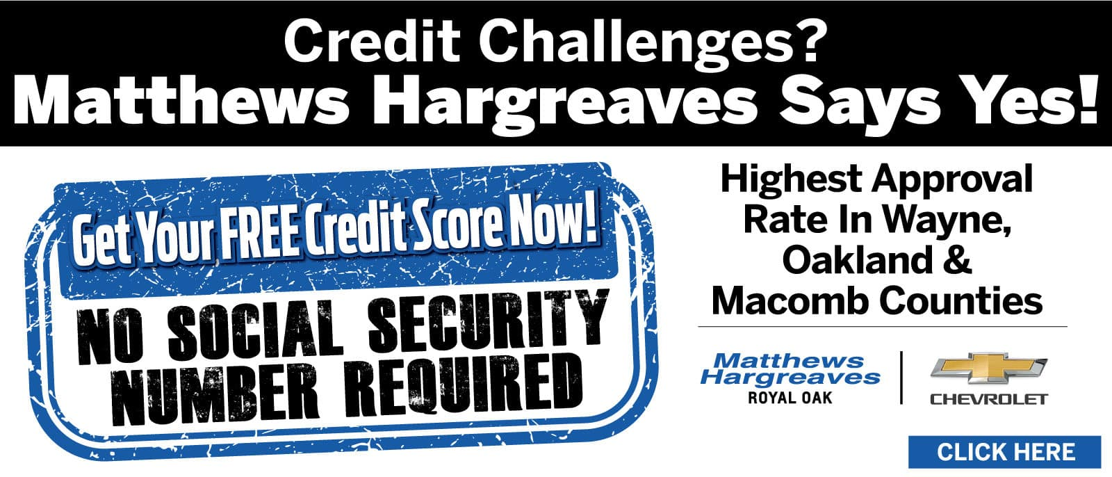 Credit Challenges? Matthews-Hargreaves Says Yes!