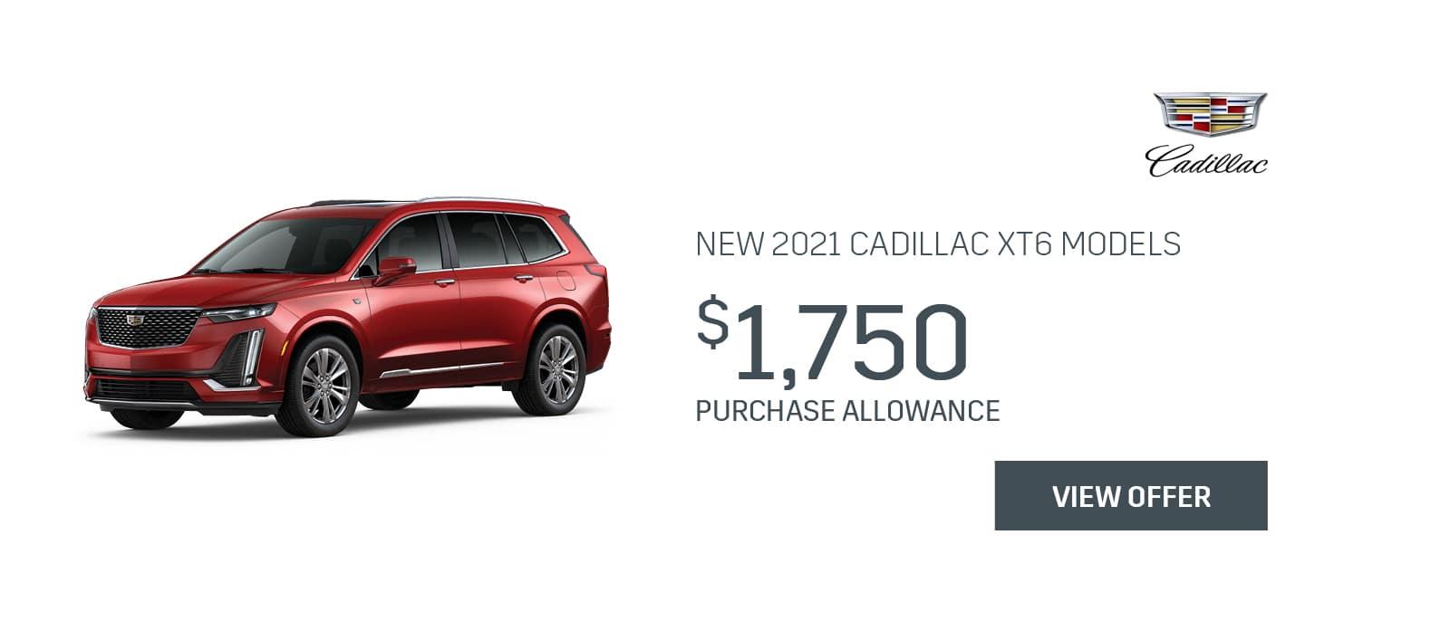 2021 Cadillac XT6 Models