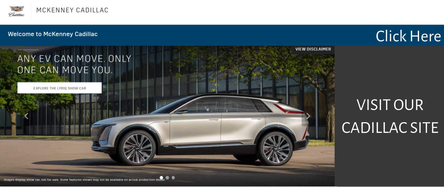 VISIT OUR CADILLAC SITE