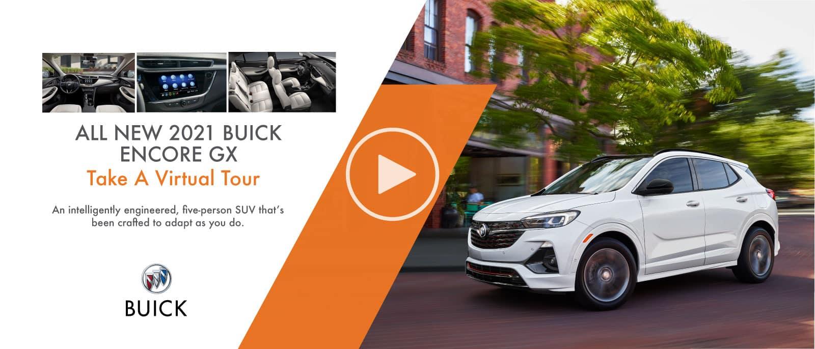 2021 Buick Encore GX Virtual Tour