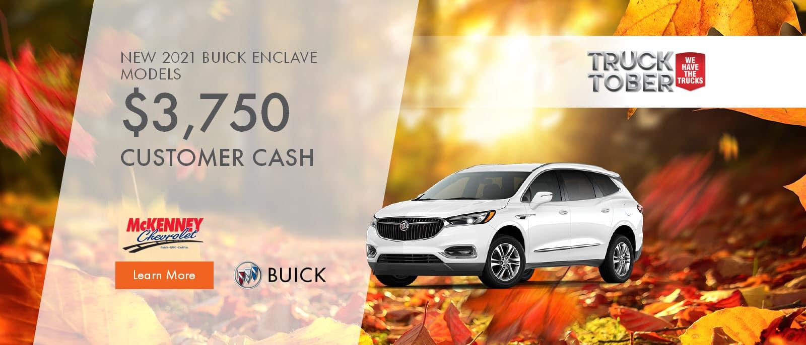 2021 Buick Enclave Models