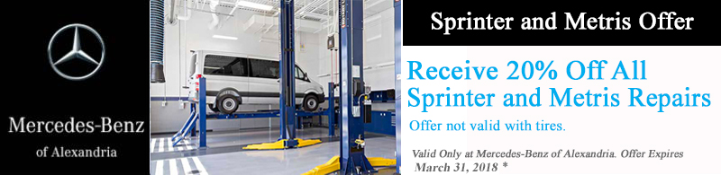 sprinter offer March 2018