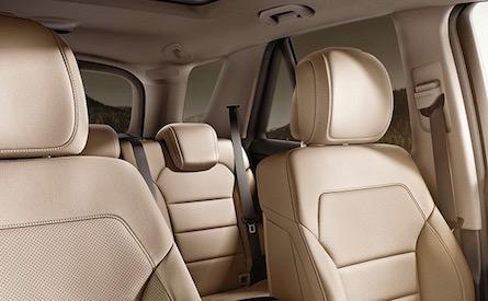 2018 Mercedes-Benz GLE SUV interior