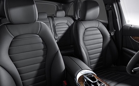 Interior of the 2018 Mercedes-Benz GLC SUV
