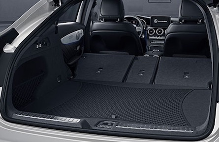 2018 Mercedes-Benz GLC Coupe cargo space