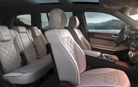 2018 Mercedes-Benz GLS SUV interior