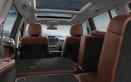 Cargo space in the 2018 Mercedes-Benz GLS SUV