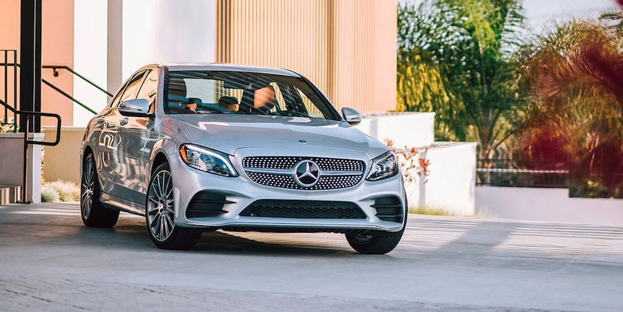 New Mercedes-Benz sedans available near Washington DC