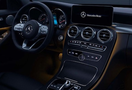2019 Mercedes-Benz C-Class sport sedan interior