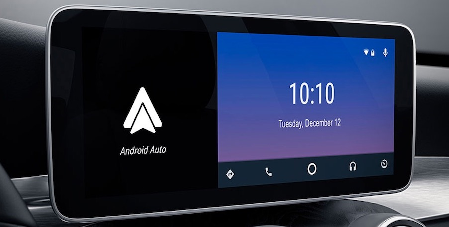 2019 Mercedes-Benz C-Class with Android Auto