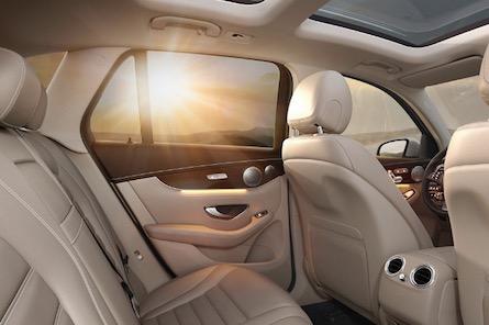 2019 Mercedes-Benz GLC SUV interior space