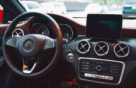 Cabin of the 2019 Mercedes-Benz CLA Coupe