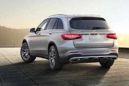 2019 Mercedes-Benz GLC SUV exterior