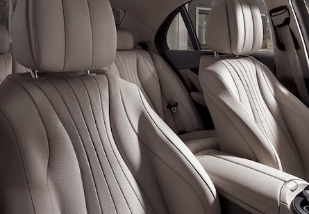 Interior appointments in the 2019 Mercedes-Benz E-Class Sedan