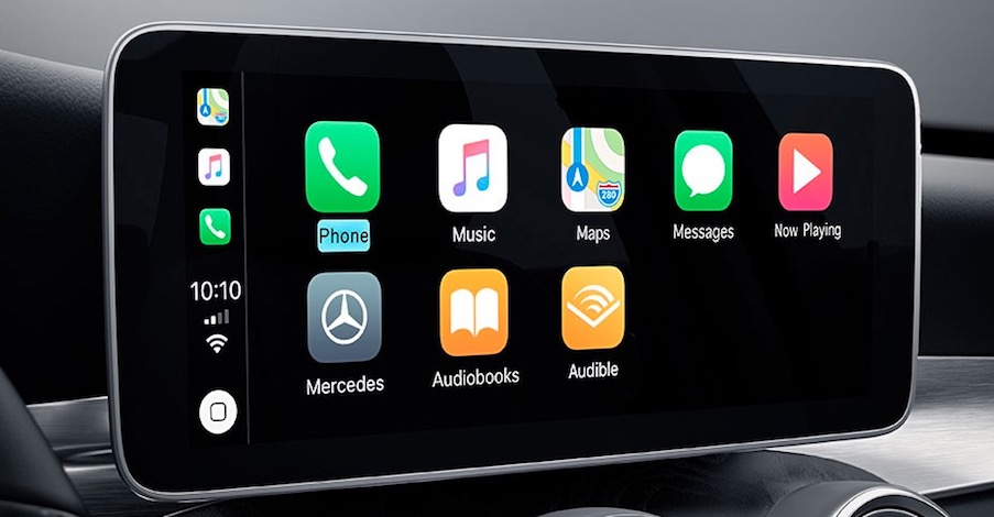 New Mercedes-Benz C 300 with Apple CarPlay™