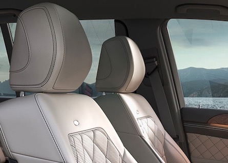 Seating in the 2019 Mercedes-Benz GLS SUV
