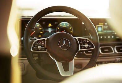 GLE SUV console