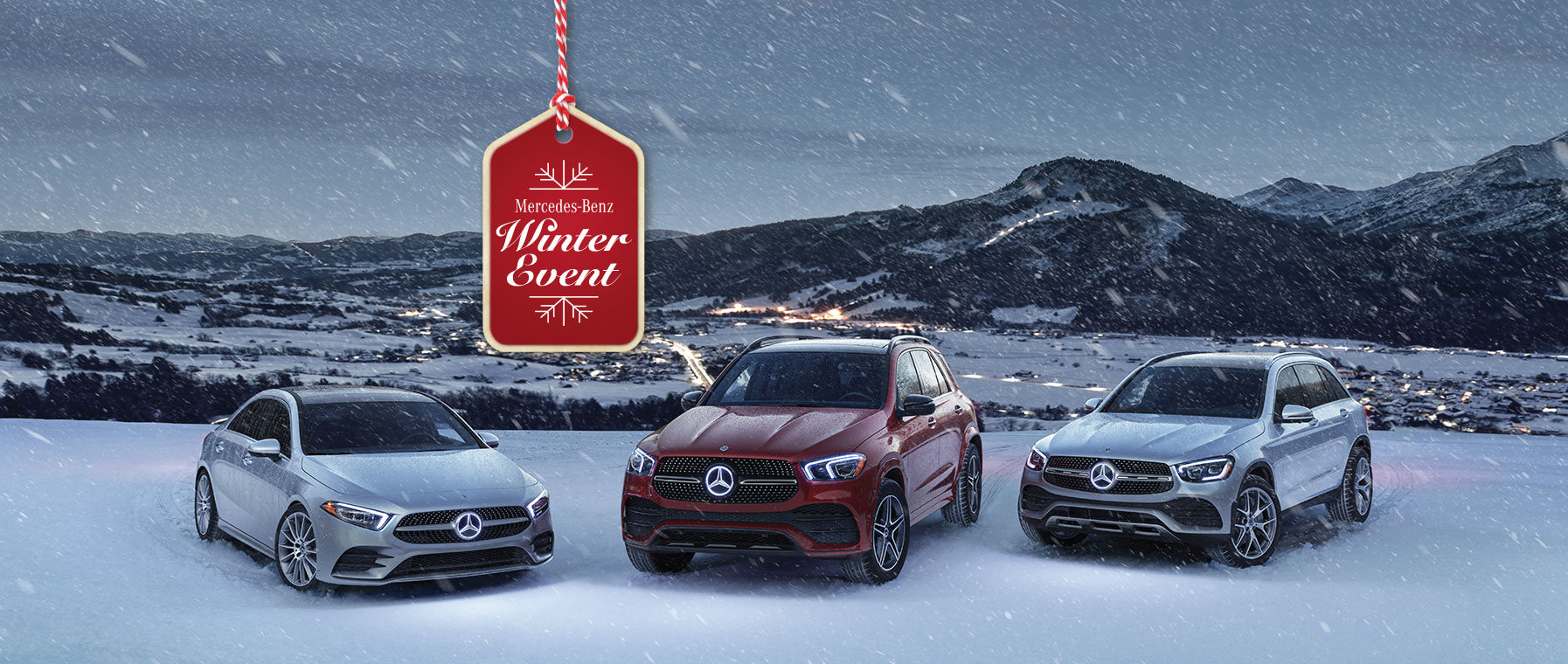 Mercedes-Benz Winter Sales Event Banner