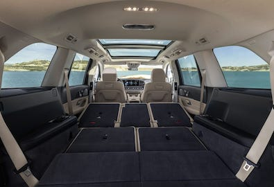 2020 GLS SUV cargo space