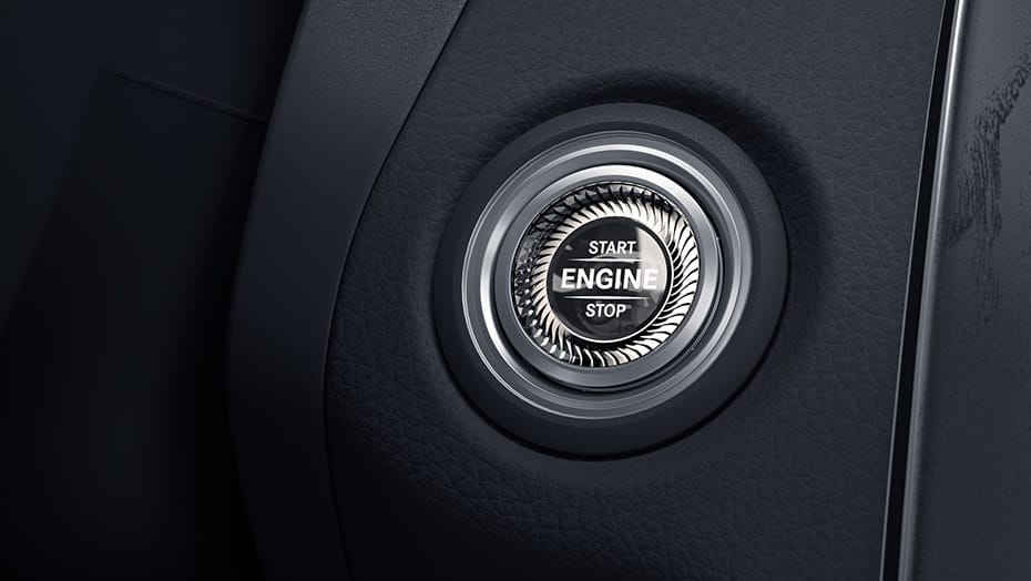 Mercedes-Benz 2020 C-Class push button start
