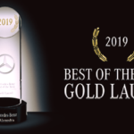 2019 Mercedes-Benz Best of the Best Dealer Gold Laurel Recognition Award