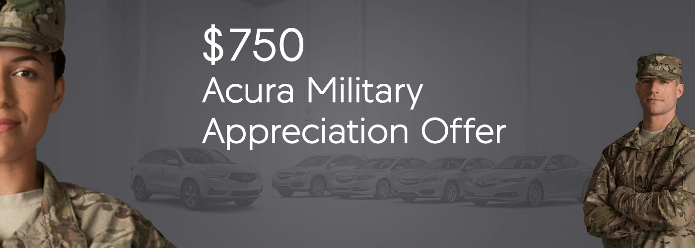 Michigan Acura Military Appreciation Offer