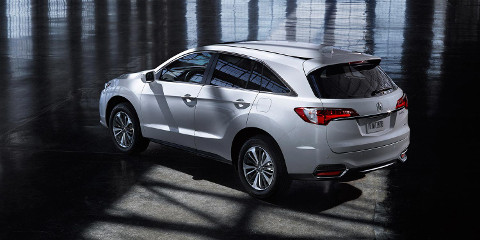 2016 rdx exterior awd with advance package in slate silver metallic hanger 8