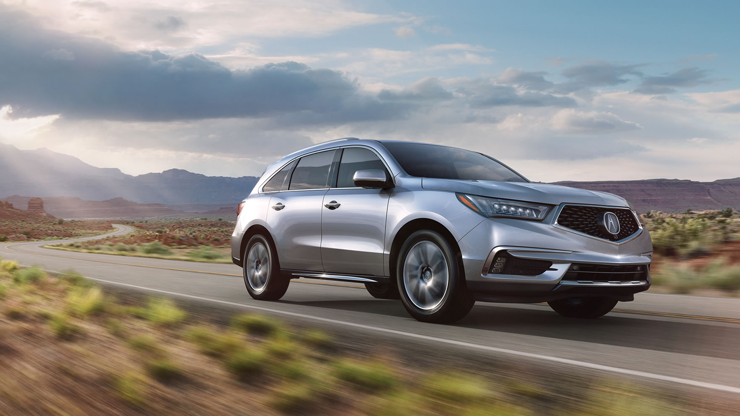 2017 Acura MDX Exterior Front Drive