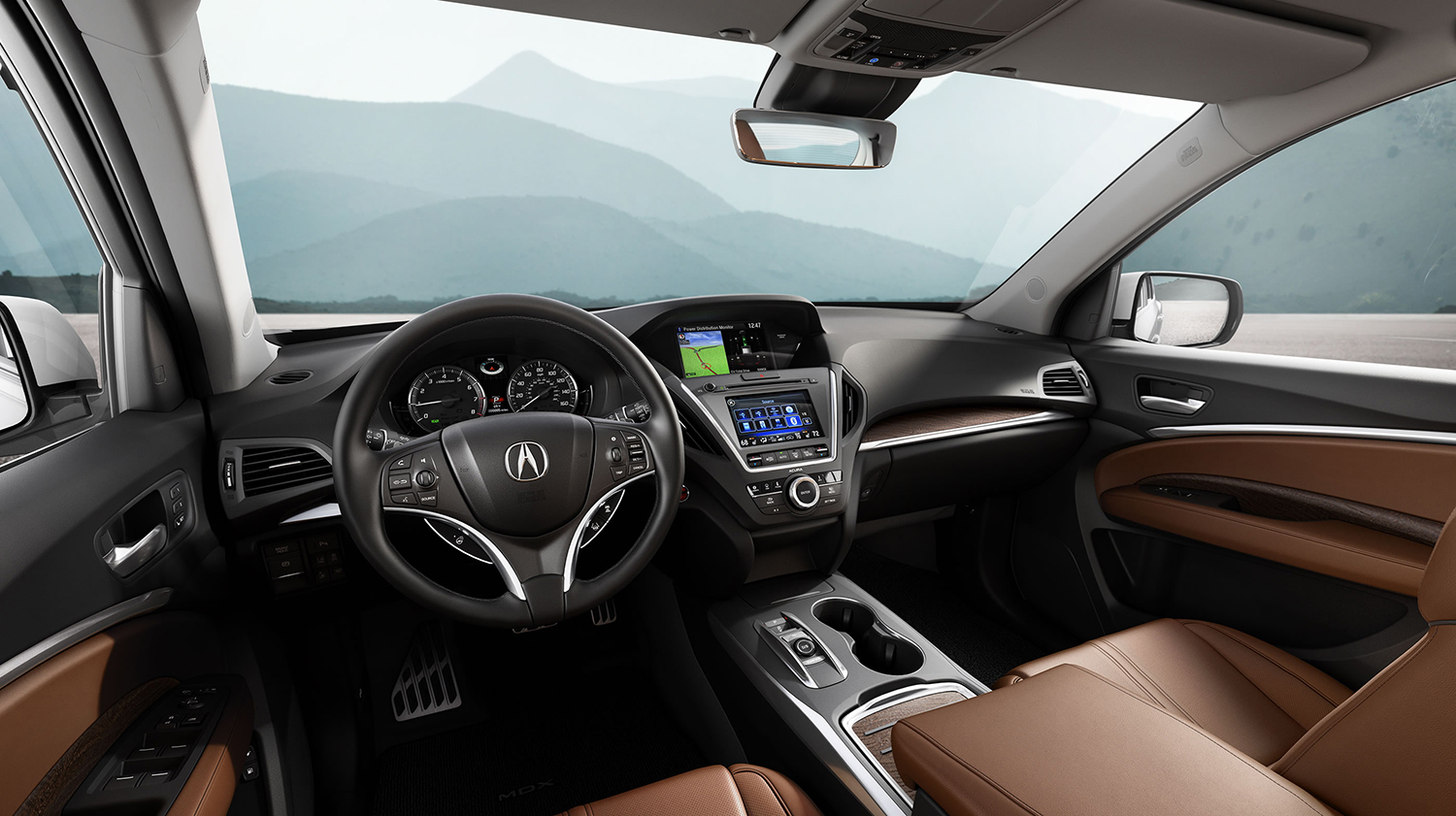 2017 Acura MDX Front Cabin