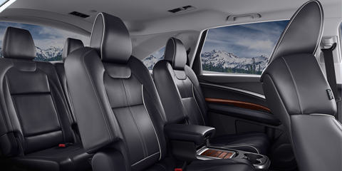2017 Acura MDX Third-Row Seating