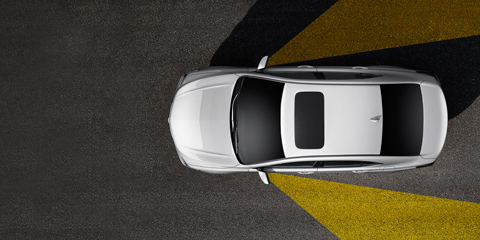 2017 Acura TLX Blind Spot Information