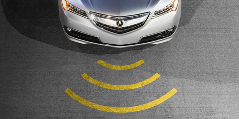 2017 Acura TLX Collision Mitigation Braking