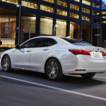 2017 Acura TLX Exterior Night White
