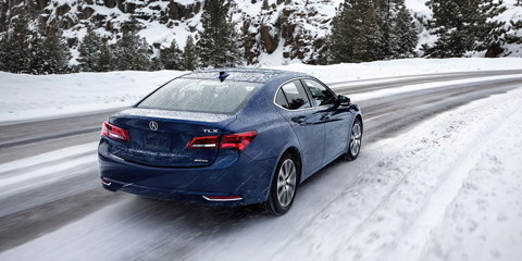 2017 Acura TLX Precision All-Wheel Steer