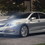 2017 Acura RLX Exterior Night